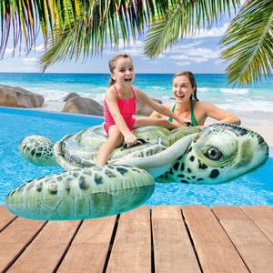 Aufblastiere Badetiere Schwimmliege Pool Liege Lounge Wasserliege Badeinsel Luftmatratze