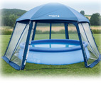Poolliege Pool Liege Treu Wasserliege Sessel Lounge Im Luftmatratze Blau