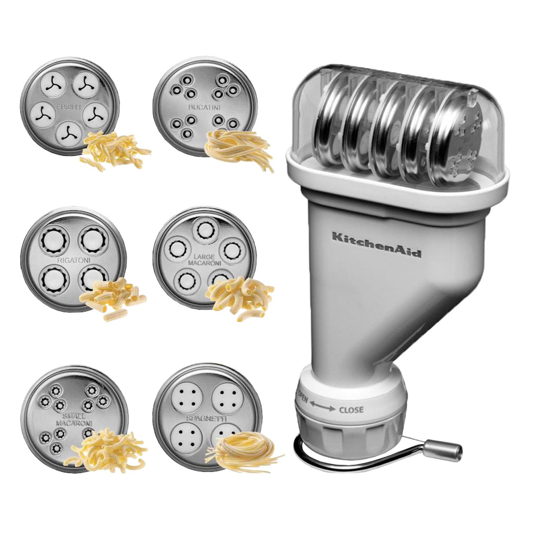 kitchenaid r hrennudelaufsatz nudelvorsatz set nudelmaschine pasta maschine 5kpe ebay. Black Bedroom Furniture Sets. Home Design Ideas