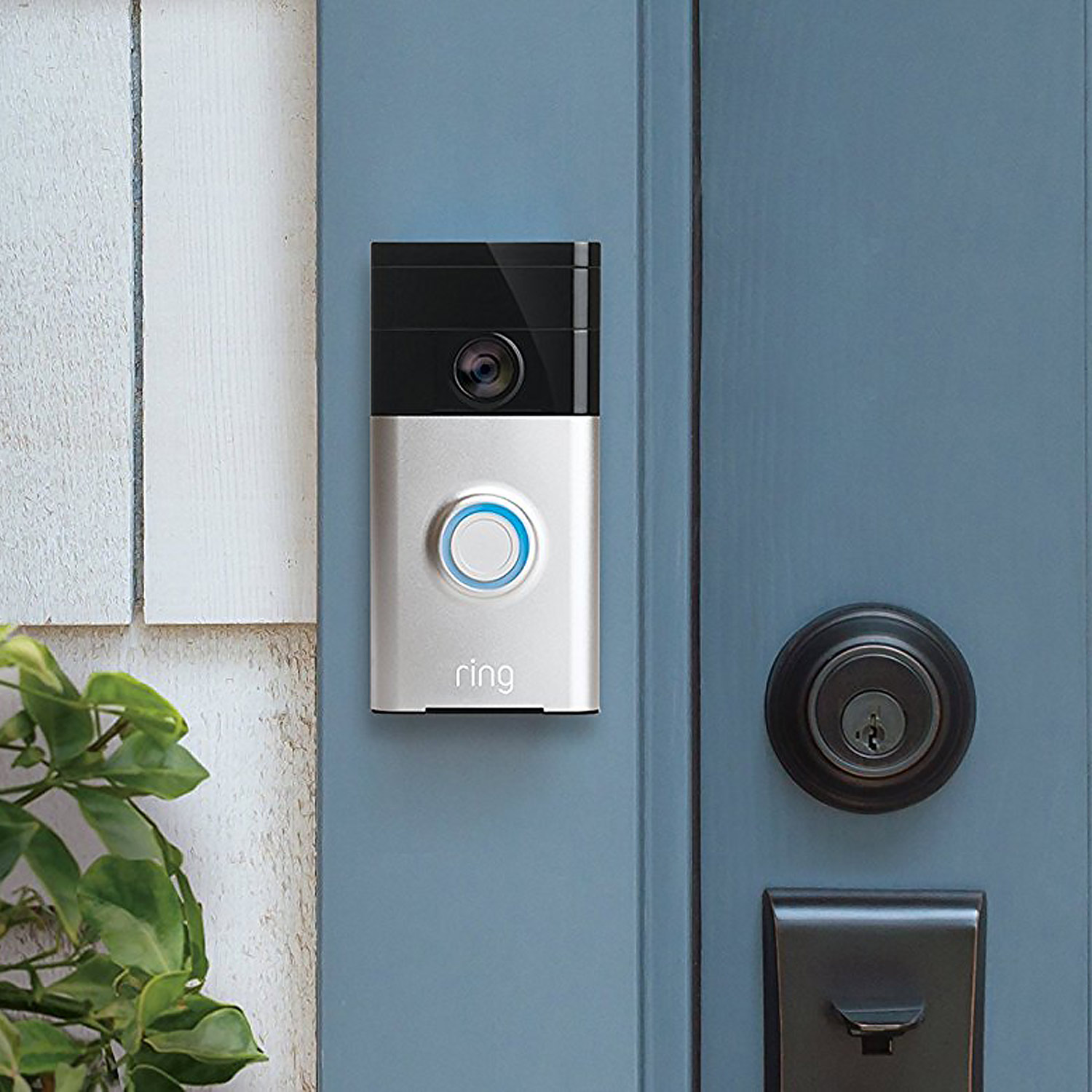 doorbell ring video wifi t rklingel klingel t r sprechanlage f r amazon alexa 852239005772 ebay. Black Bedroom Furniture Sets. Home Design Ideas