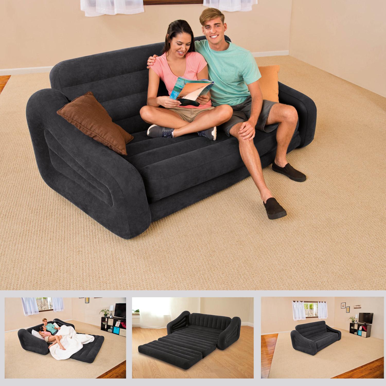 INTEX Sofa Lounge Luftbett 193x231x71cm Couch ausziehbar 68566 : blv from www.miganeo.de size 1500 x 1500 jpeg 513kB